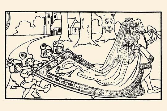 Buyenlarge Princess Cinderellas Royal Procession By David Brett Unframed Graphic Art Print Wayfair