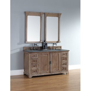 Ogallala 60 Double Driftwood Bathroom Vanity Set by Greyleigh
