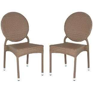 Valdez Stacking Patio Dining Chair (Set o..