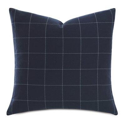 Barclay Butera Windowpane Cotton Throw Pillow Eastern Accents