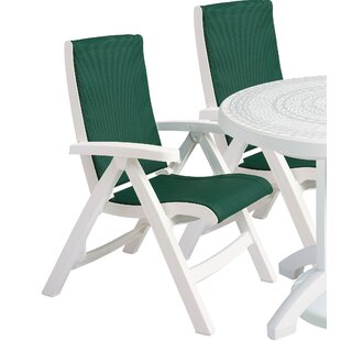 Vanek Folding Patio Dining Chair (Set of 2)
