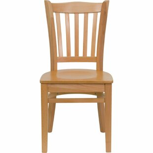 Duprey Solid Wood Dining Chair by Charlto..