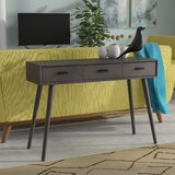 Conlon 42 Solid Wood Console Table by George Oliver