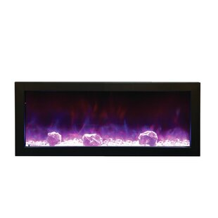 Atoll Built-In Electric Fireplace by Orren Ellis