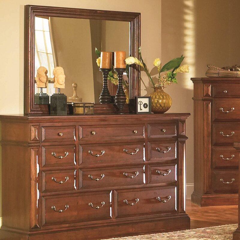 Superb Newark 11 Drawer Dresser With Mirror