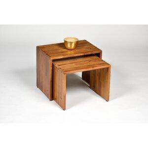 2-tlg. Satztisch-Set Nero von Hokku Designs