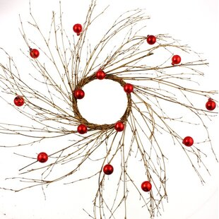 Artificial Rustic 50cm Twig Wreath Image