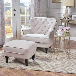 Phenomenal Heywood Armchair And Ottoman Ibusinesslaw Wood Chair Design Ideas Ibusinesslaworg