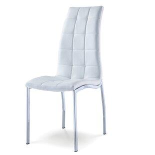 Orren Ellis Fish Upholstered Dining Chair (Set of 4)