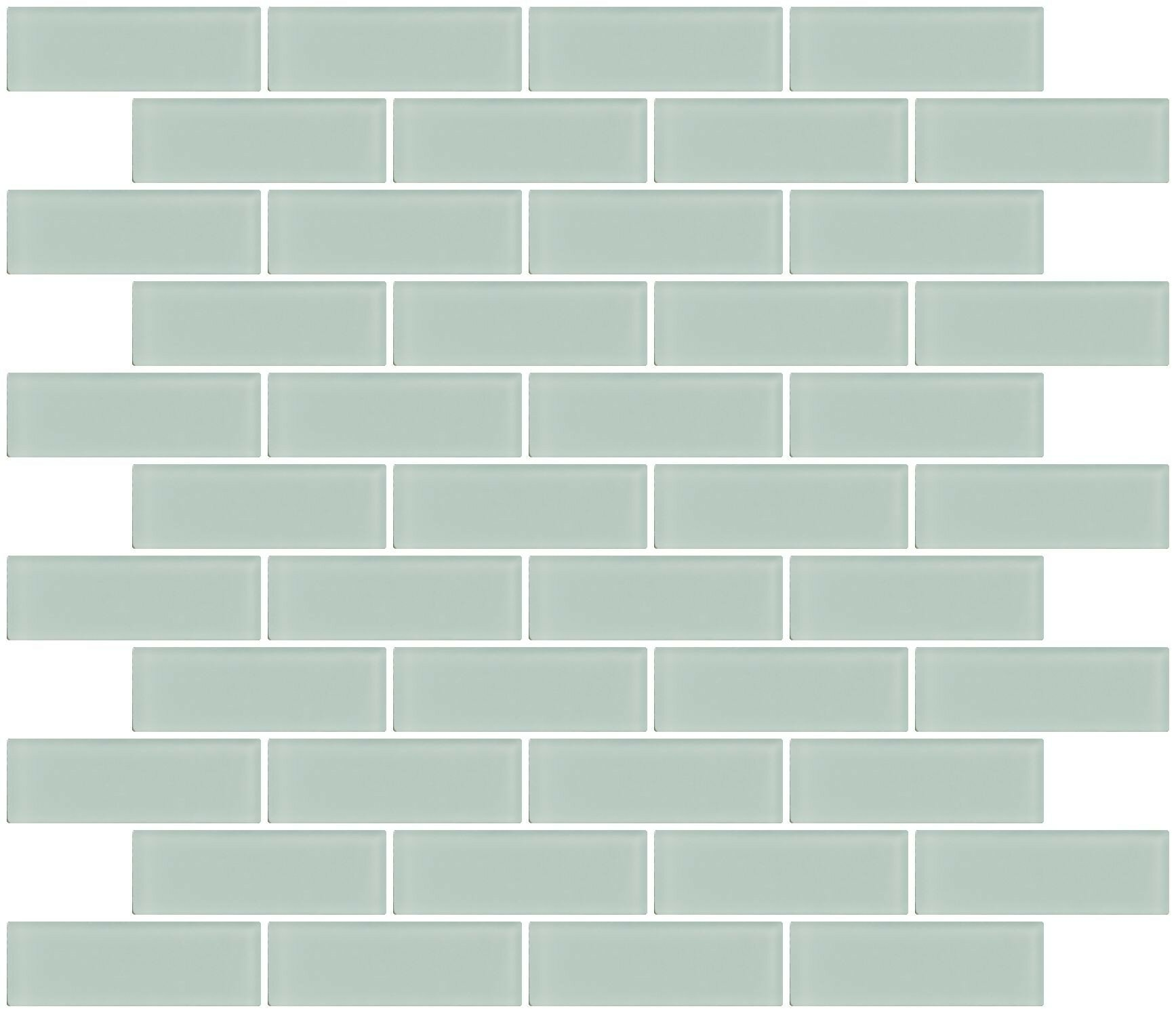Architects Frosted 1 X 3 Gl Subway Tile