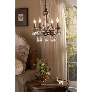 Laurius 4-Light Candle Style Chandelier by Astoria Grand
