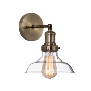 Top Reviews Fonda 1-Light Armed Sconce By Williston Forge