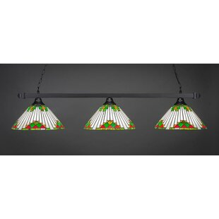 Red Barrel Studio Ahern 3-Light Billiard Pendant