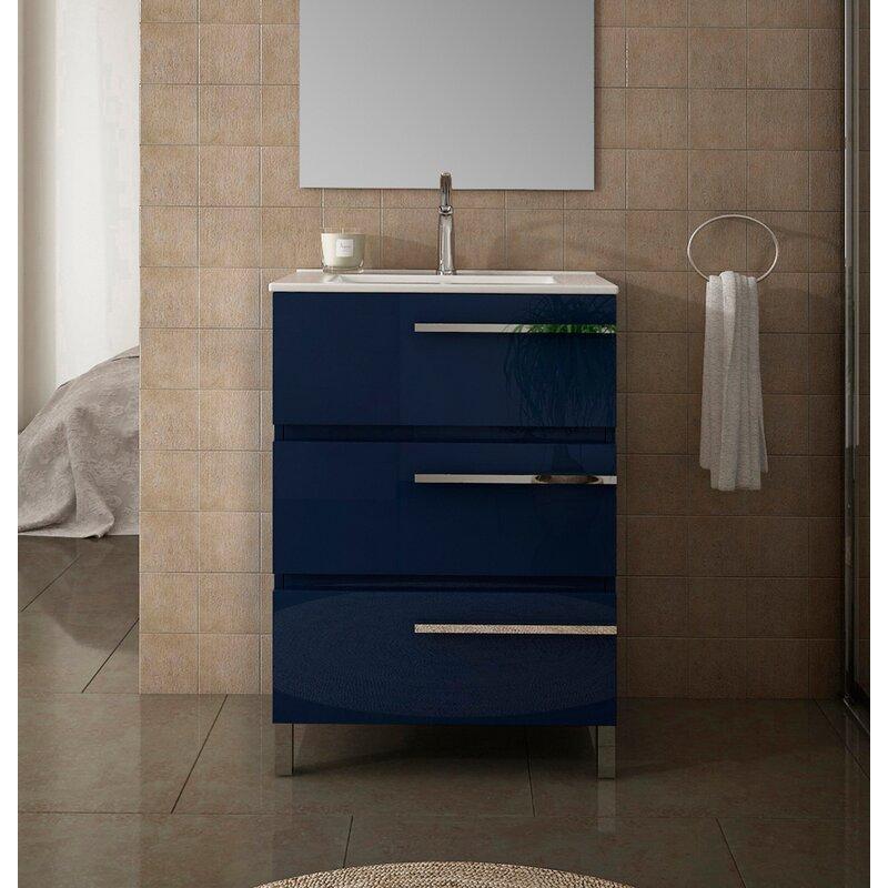 Orren Ellis Sille 28 Single Bathroom Vanity Set Wayfair