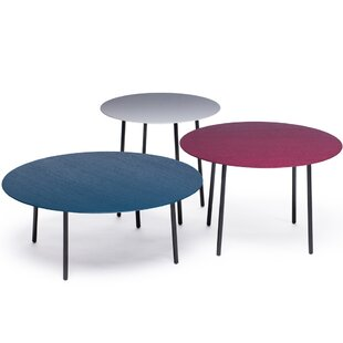 Review Riner 3 Piece Coffee Table Set