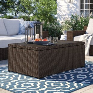 Oreland Wicker Coffee Table