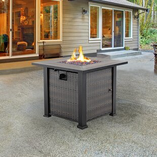 NUU GARDEN CORPORATION Stone Propane Fire Pit Table