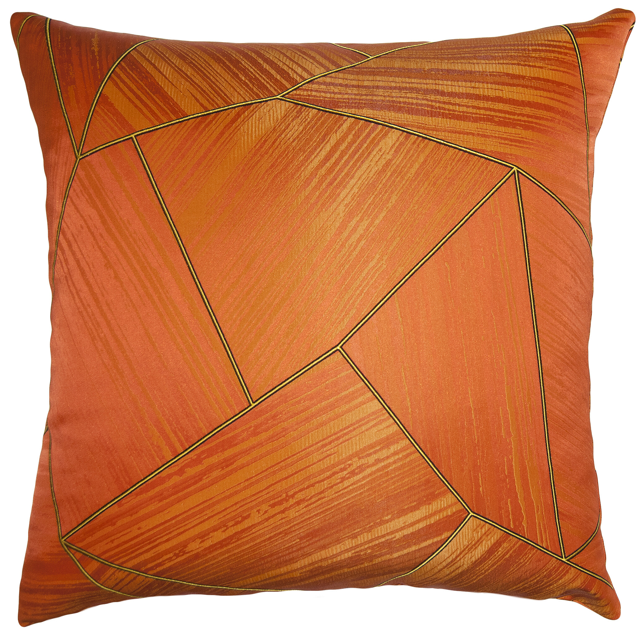 Square Feathers Carnival Throw Pillow Wayfair