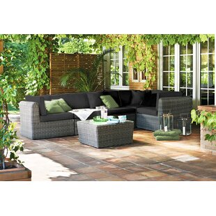 Irie 4 Seater Rattan Corner Sofa Set By Sol 72 Outdoor