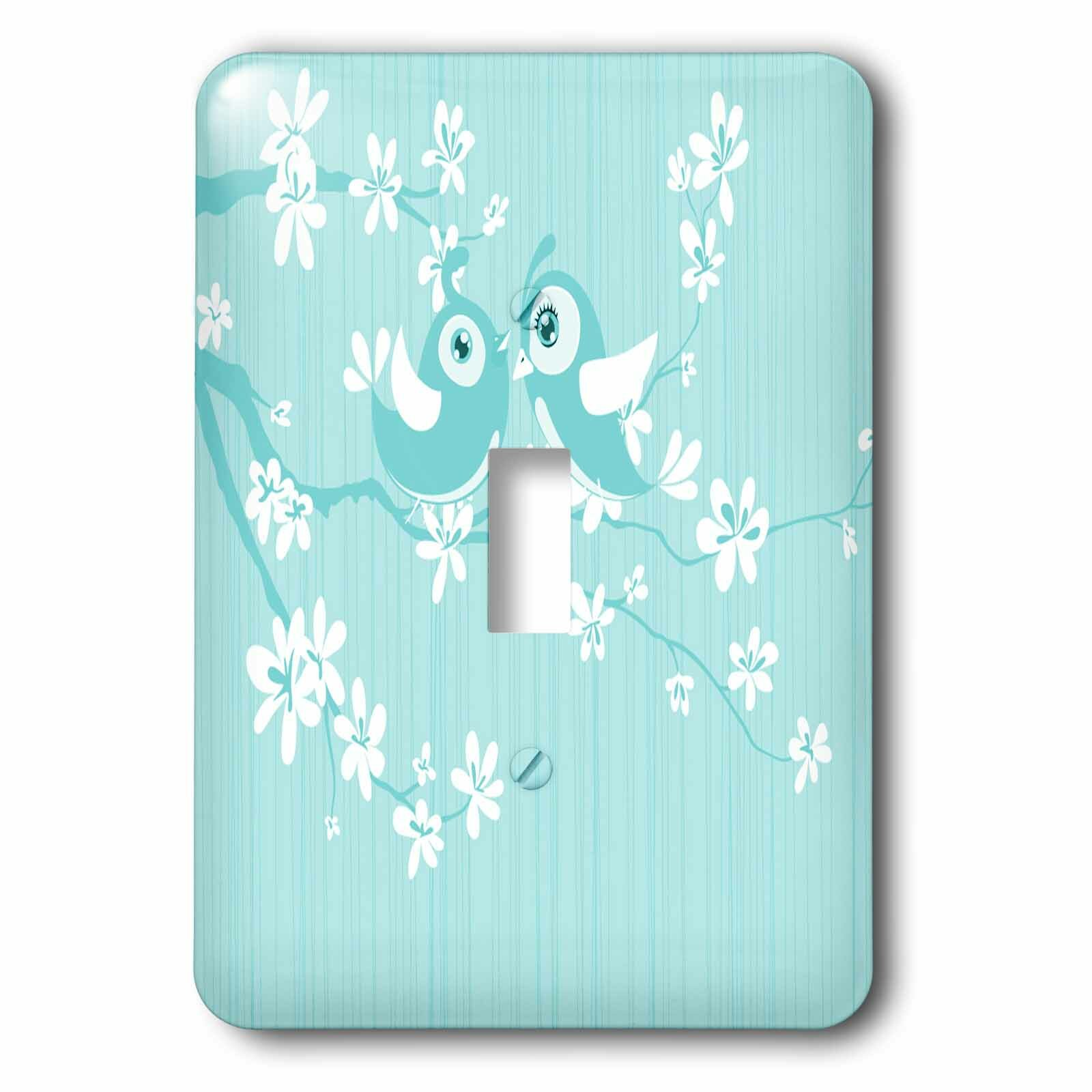 3drose Bird On Cherry Blossom 1 Gang Toggle Light Switch Wall Plate Wayfair