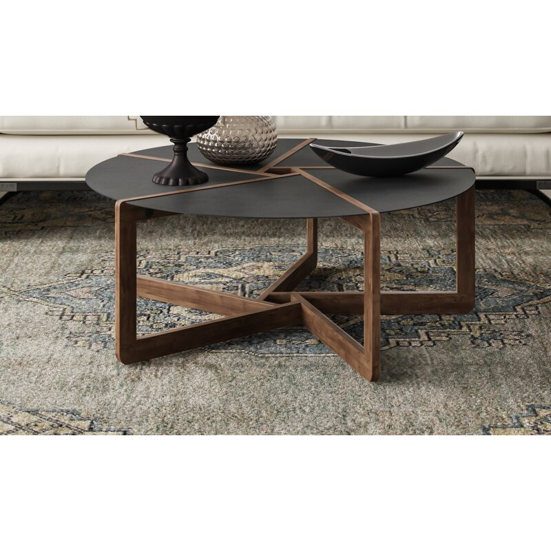 Blu Dot Pi Cross Legs Coffee Table Perigold