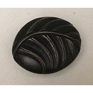 Palm Leaf Oval Novelty Knob