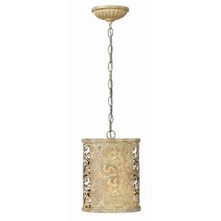 Fredrick Ramond Carabel 1-Light Cylinder Pendant