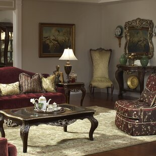 Michael Amini Imperial Court 3 Piece Coffee Table Set