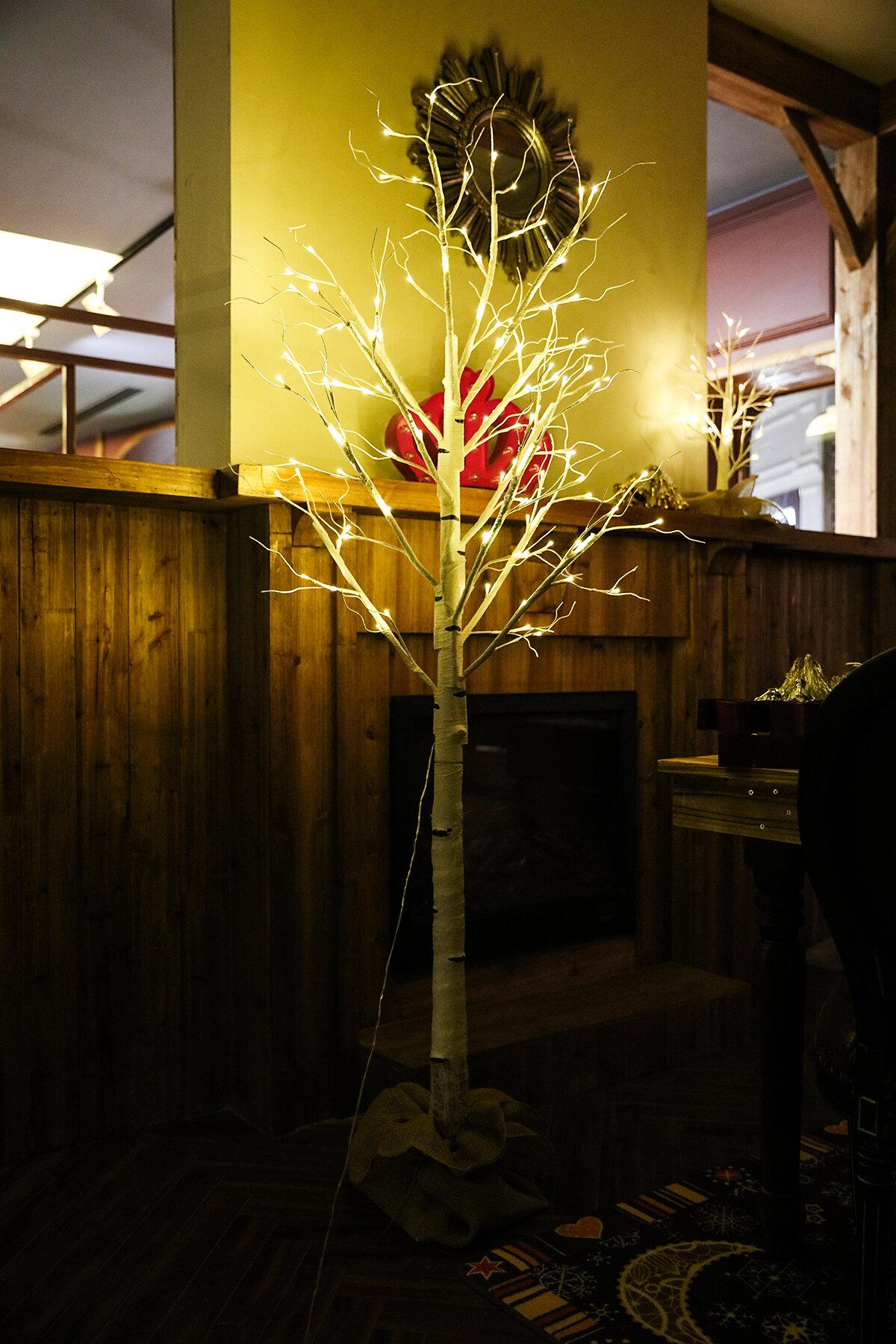 FestivalDepot LED White Birch Light & Reviews | Wayfair