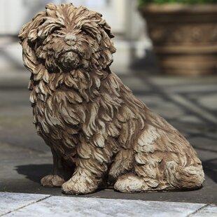 Campania International Fluffy Dog Statue