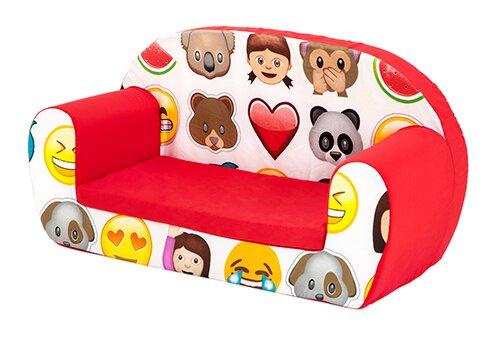 Kinder Sofa Emoji Just Kids | Kinderzimmer > Kindersessel & Kindersofas | Just Kids