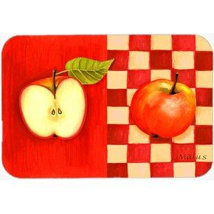 Apple Glass Cutting Board