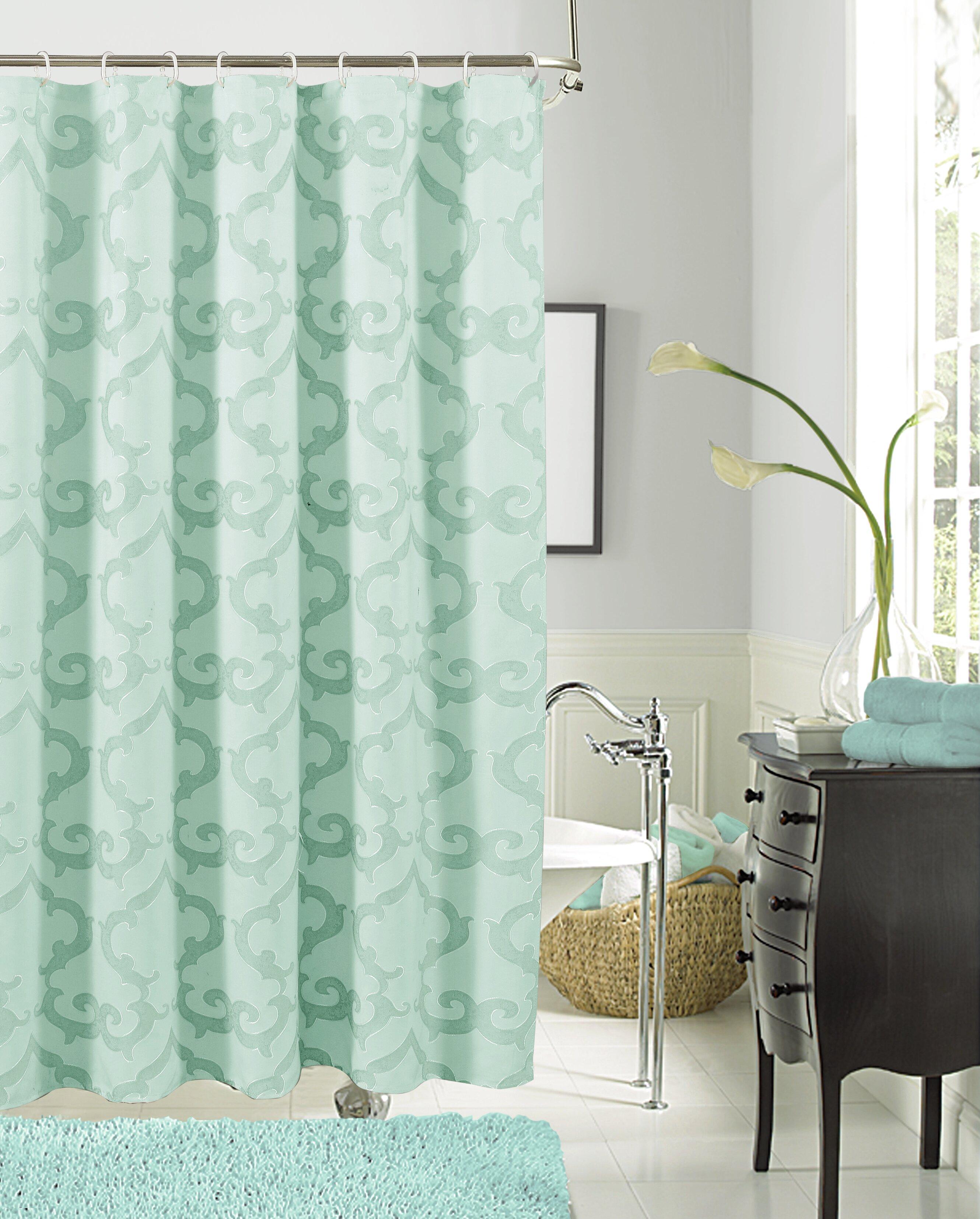 4b382c0f0e7 Ellen Tracy Slipcovers Luxembourg Single Shower Curtain