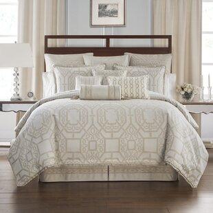 Waterford Bedding Lancaster 4 Piece Reversible Comforter Set