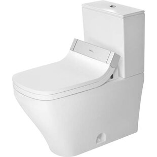 Duravit DuraStyle 1.28 GPF (Water Efficient) Elongated Two-Piece Toilet wi..
