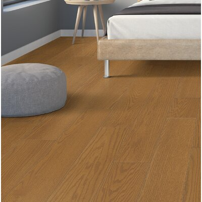 "Americana Oak 1/2"" Thick x 6-1/2"" Wide x Varying Length Engineered Hardwood Flooring Harris Hardwood Flooring Color: Red Oak Central Park"