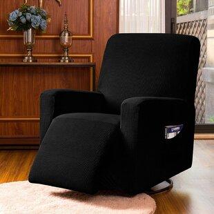 Jacquard Spandex Stretch Box Cushion Recliner Slipcover By Ebern Designs
