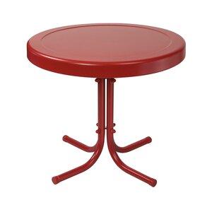 Timothea Steel Side Table