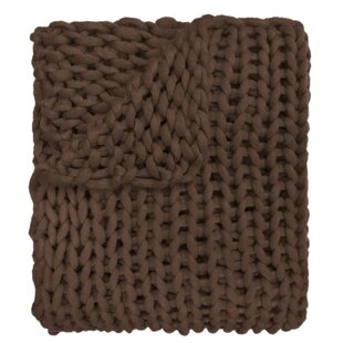 Charest Chunky Knitted Acrylic Throw