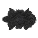 Black Faux Fur Area Rugs Free Shipping Over 35 Wayfair