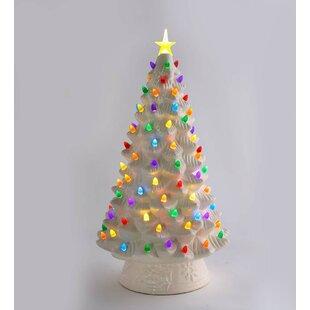Ceramic Xmas Tree With Lights Wayfair