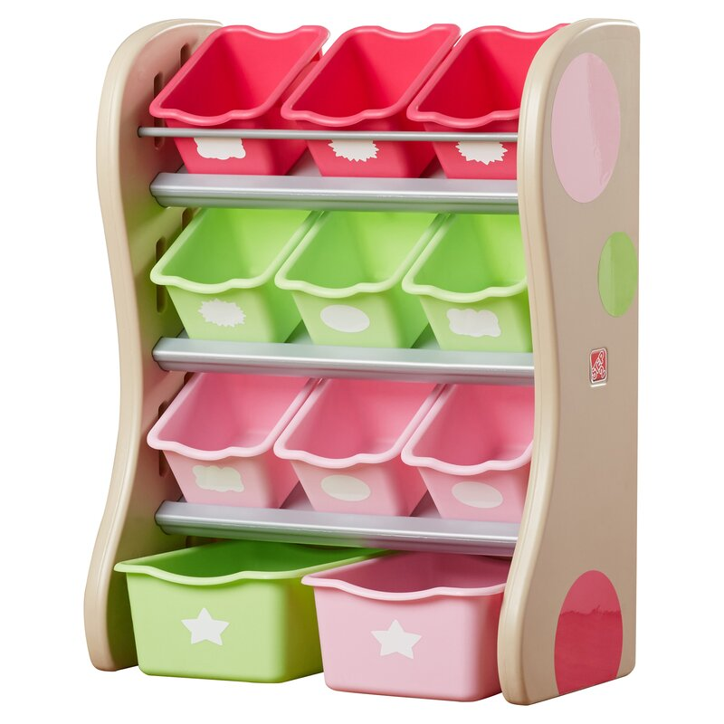 Step2 Fun Time Room Toy Organizer & Reviews | Wayfair