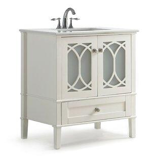 Compare Paige 30 Single Bathroom Vanity Set BySimpli Home