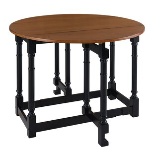 Charlton Home Luxora Drop Leaf Dining Table