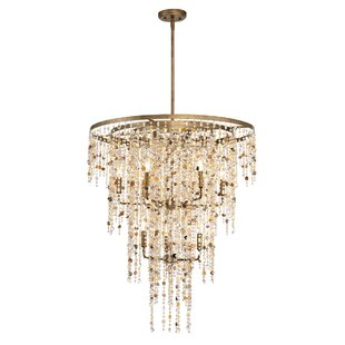 Eurofase Savannah 9-Light Candle Style Chandelier