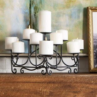 Mini Spandrels Metal Candelabra by Minuteman Amazing