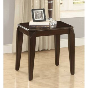Lando Wooden End Table