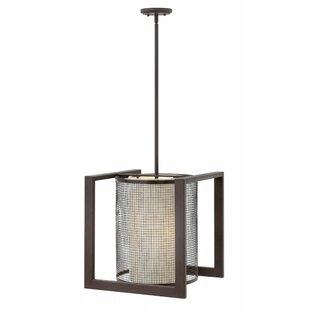 Hinkley Lighting Renzo 3-Light Square/Rectangle Chandelier