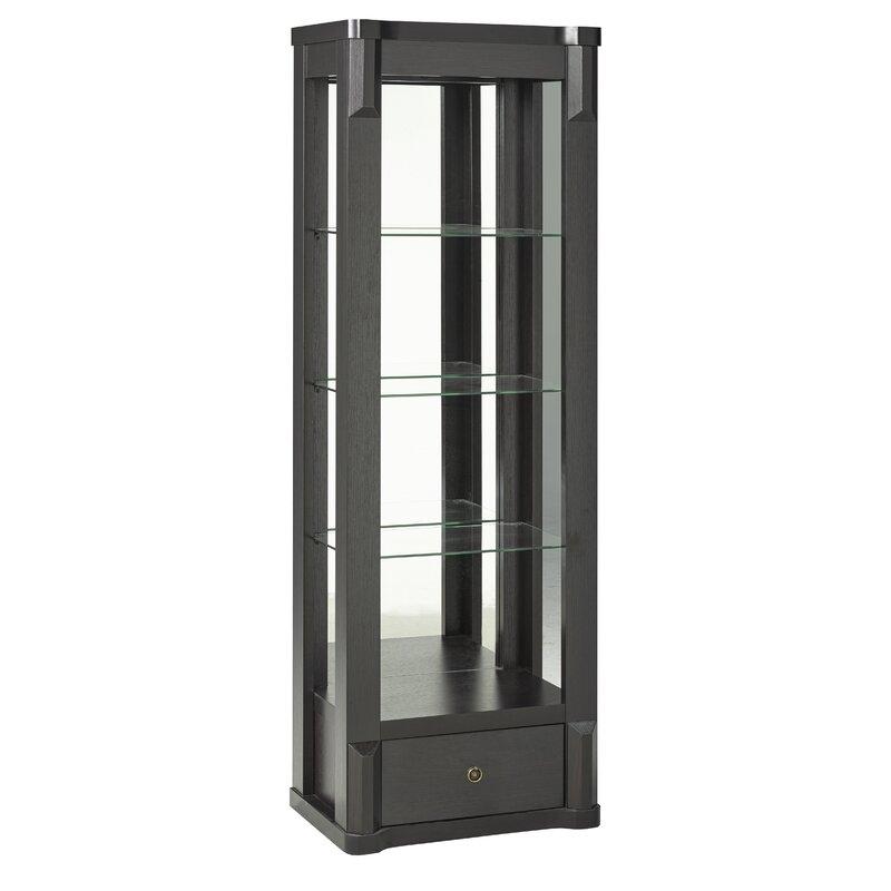 Vadim Curio Cabinet with Top Light  sc 1 th 225 & Orren Ellis Vadim Curio Cabinet with Top Light | Wayfair