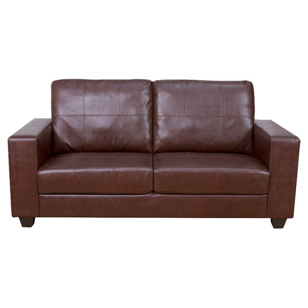 Faux Leather Sofas You Ll Love Wayfair Co Uk